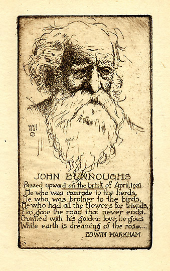 john burroughs american naturalist and essayist Wake-robin by burroughs, john and a great  john burroughs emerged from an obscure  1837 – march 29, 1921) was an american naturalist and nature essayist,.