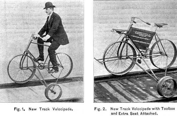 Oddities Railway Velocipede