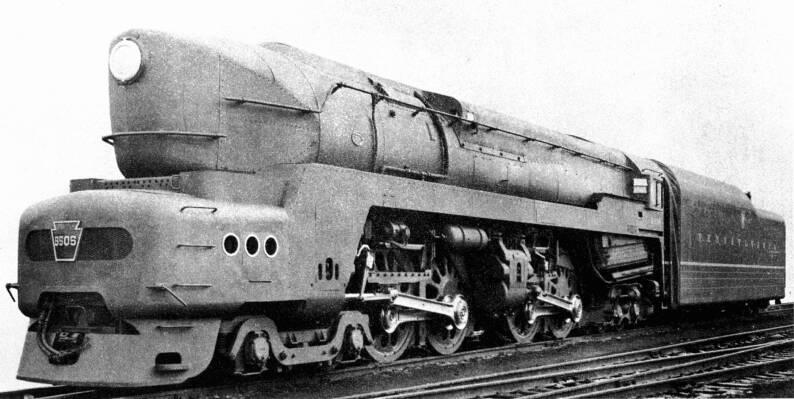 1945 Pennsylvania Railroad Locomotive 5505